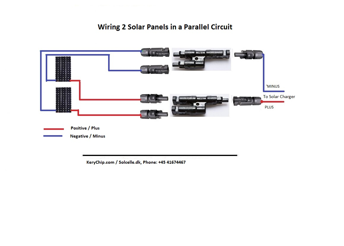 Off Grid Diagrams Kerychip Solar Energy Wiring A Parallel Circuit 3 Panels In