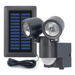 Solar LED Spot Duo LPL Black