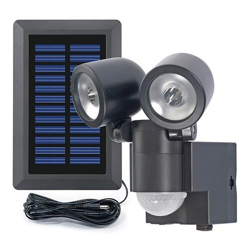 Solar LED Spot Duo LPL Black