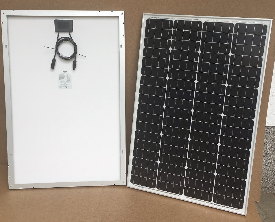 Solcelleanlæg SC100 Solarix, 100Watt, UDEN batteri