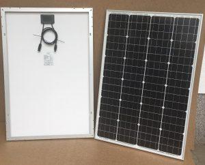 100Wp/24V solar module PV-100-M-72S, mono