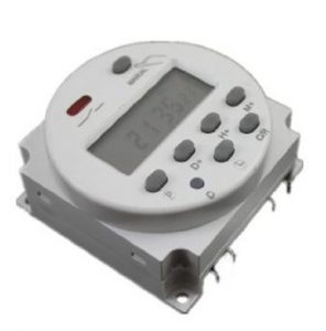 Elektronisk digital timer / Minutur 12V/16A
