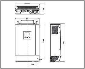 Hybrid Inverter / Charger Steca Solarix