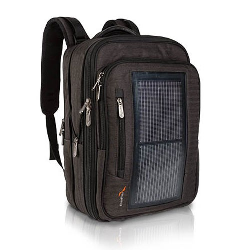 Skoletaske/rygsæk Solar Backpack Packr Executive