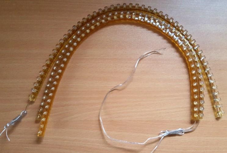 3stk. fleksibel Led strips a 48 cm