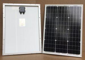 Solcelleanlæg SC50/B - 50Watt med batteri