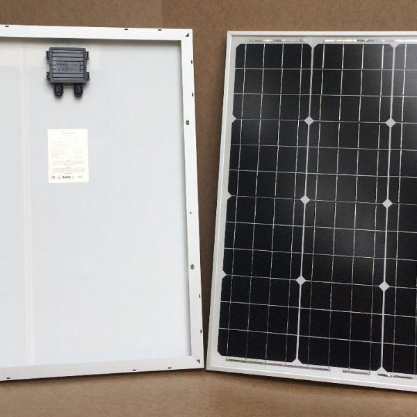 50Wp / 12V solar panel monocrystalline - PV-50-M-36