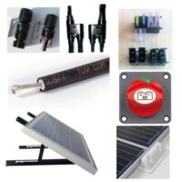 Accessories, fittings, electrical installation