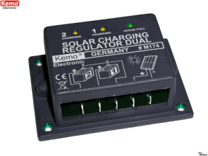 Solar charging regulator Dual 16 A M174