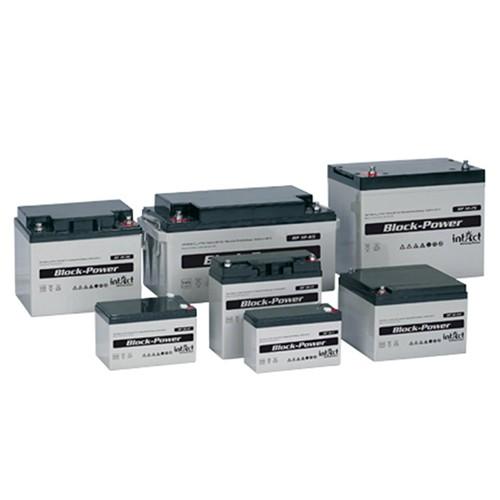 Intact AGM Block-Power Batterier 12V (1,2Ah - 200Ah)