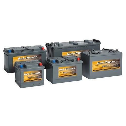 Intact GEL Power batterier 6-12V (16Ah - 300Ah)