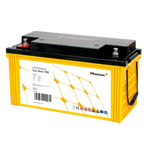 Phaesun 12V AGM battery Sun Store ( 65-200Ah)
