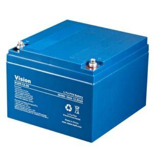 Lithium Battery Vision LFP1230, 12V 30Ah