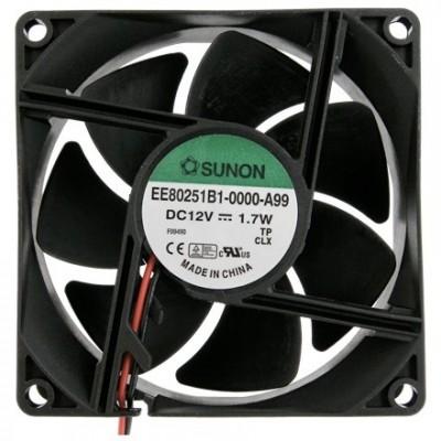 Sunon Fan 12V 80x80x25 K