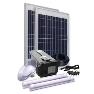 Energi Komfort Kit Solar Side Three - inklusiv 2 x 10W solcelle