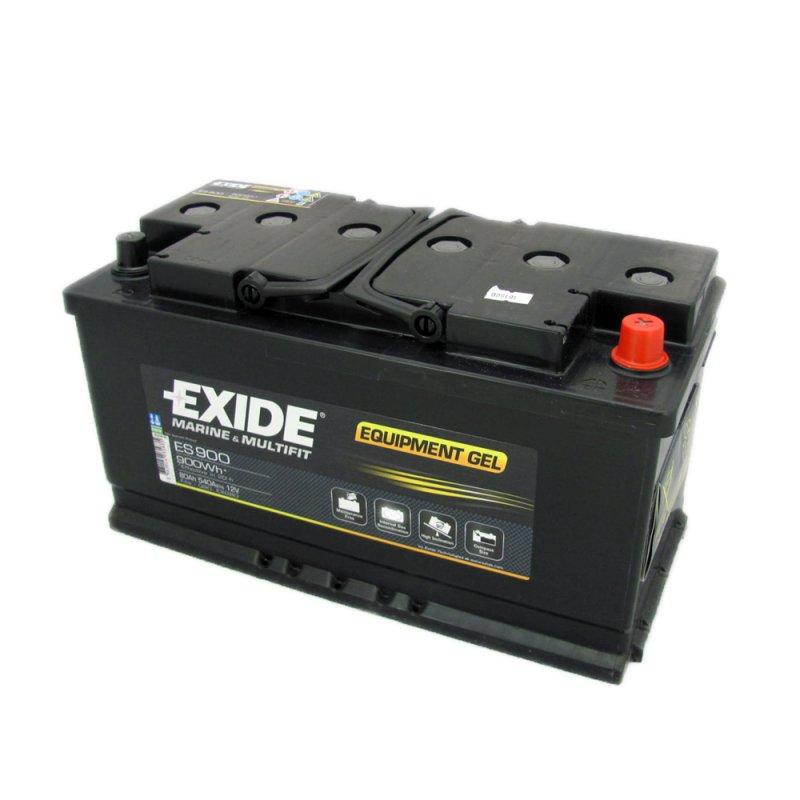 Exide EQUIPMENT Gel Batteri ES900 12V 80Ah