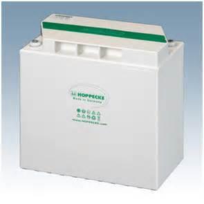 Hoppecke 6-12V GEL batterier solar.power bloc (70-370Ah)