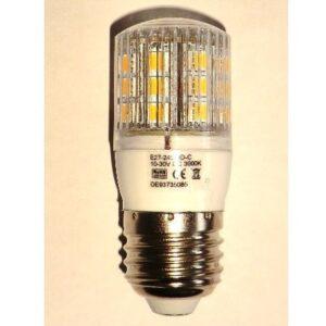 LED lighting for 12V and 24V with E27 socket