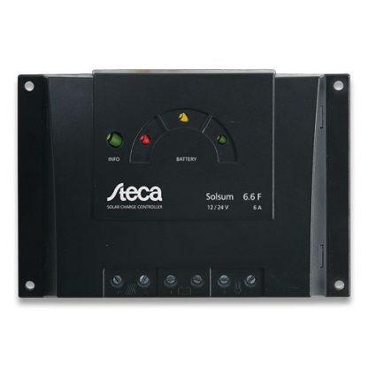 Laderegulator Steca Solsum 6 til 25A, 12/24V. Priser mellem: