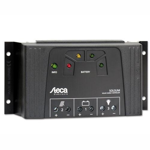 Laderegulator Steca Solsum 4040, 12/24V 40A - USB