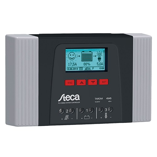 Solar Charge Controller Steca Tarom 4545-12/24 & 48V, 45A