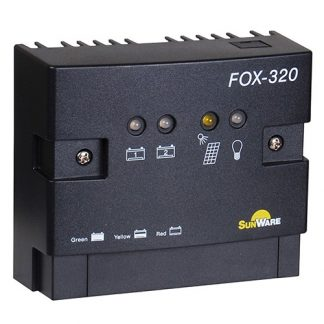 Solar Charge Controller Sunware FOX-320 , Dual 20A/12V, 24V