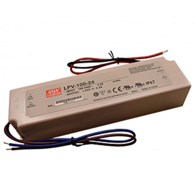 LED power supply Mean Well LPV-100, 5V, 12V, 24V