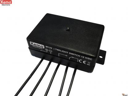 Twilight switch 12 V/DC M122