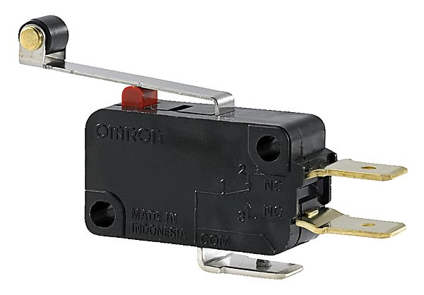 MICROSWITCH M/ KORT ARM/RULLE