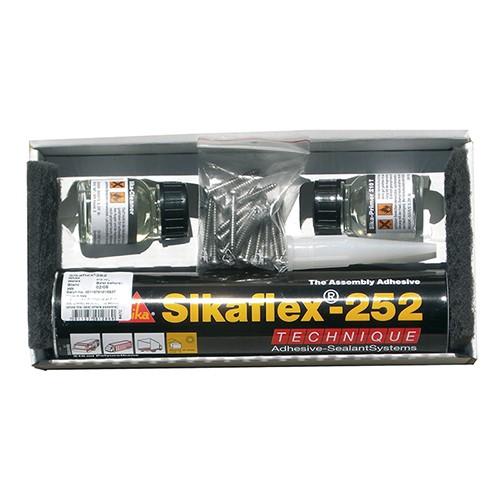 Sikaflex252 - lim, til 2 solmoduler