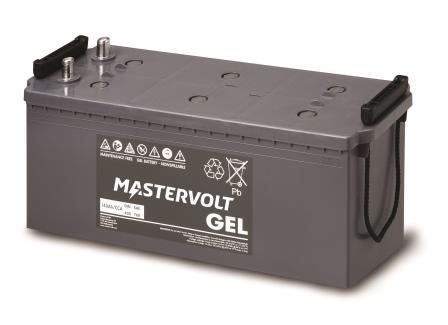 Mastervolt 12V GEL batterier (25-200Ah)