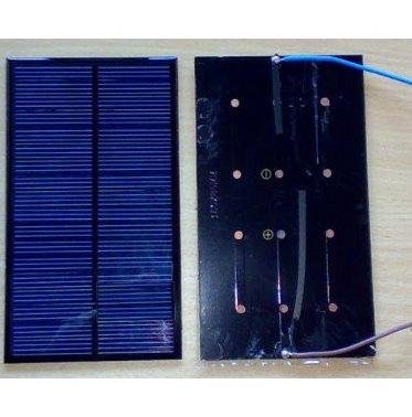 Mini solcelle 5.5V/320mA/1,7W