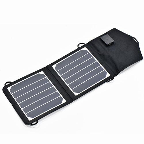 -Sammenfoldelig solcelle-kit Phaesun Trek King 2X3 Watt