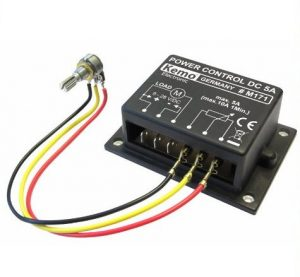 PWM Power control 9 - 28 V/DC, max. 10 A