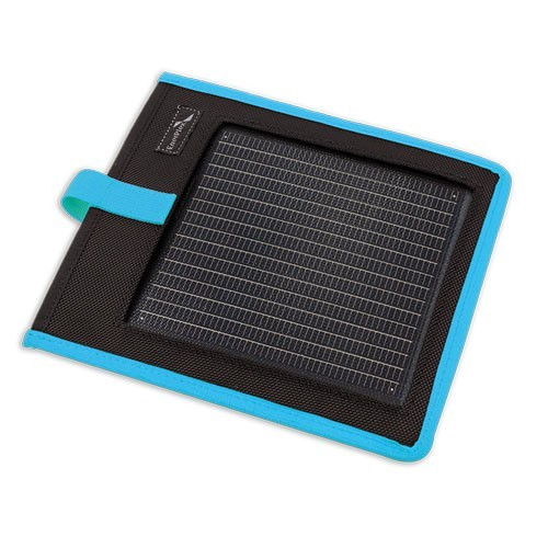 Portable Solar Charger Kickr I Blue