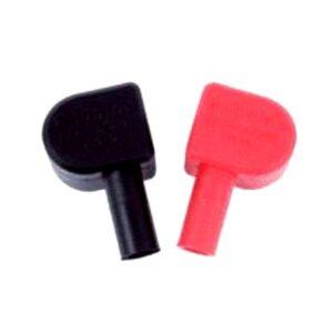 Rød og sort batteriterminal dæksel