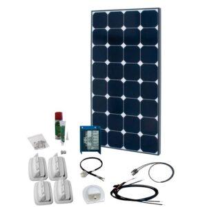 Solcelleanlæg til campingvogn SPR Solar Peak 5.4, 100W/12V
