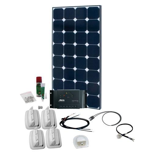 Solcelleanlæg til campingvogn SPR Solar Peak 1.5, 100W/12V