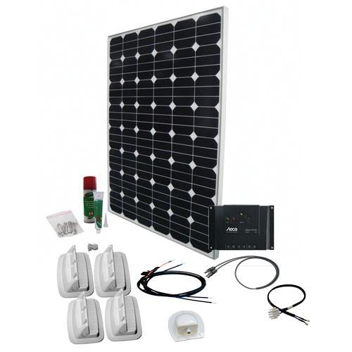 Solcelleanlæg til campingvogn SPR Solar Peak 7.1, 140W/12V