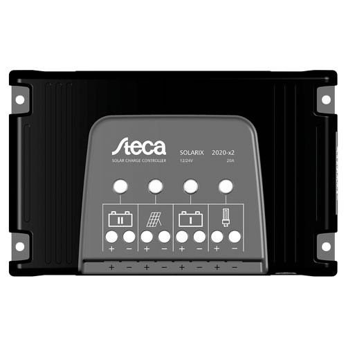 Laderegulator Steca Solarix 2020-X2 - USB, dual