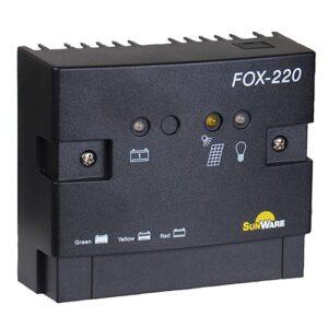 Solar Charge Controller Sunware FOX-220, 20A/12V, 24V