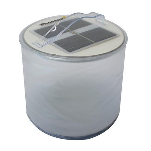 Oppustelig Solar LED Lanterne Blow-Up Color