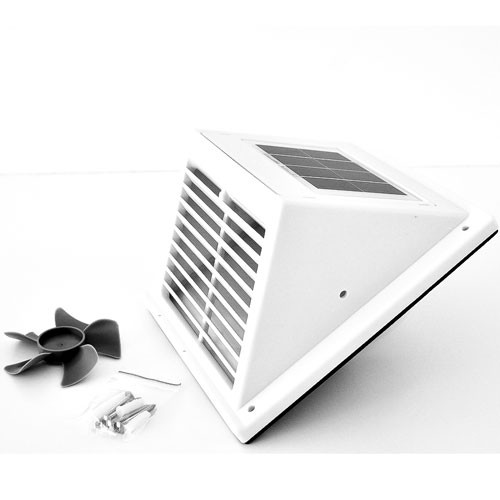 Solar Ventilations- Kit Fresh BreezeWhite