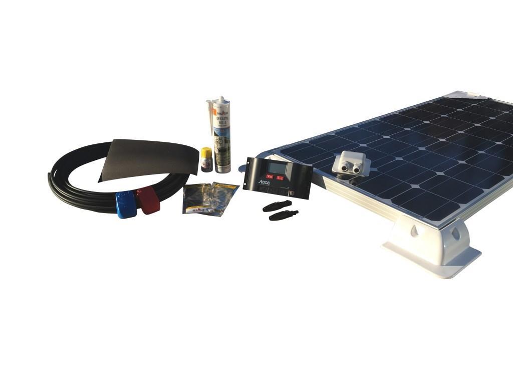100Watt Solcelleanlæg til campingvogn - Komfort 12V