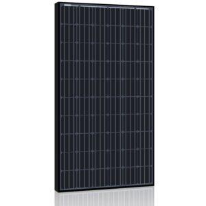 3,12 kWp Nettilsluttet solcelleanlæg - sorte monokrystallinske moduler