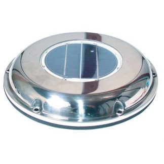 Solar Fan for boat, caravan