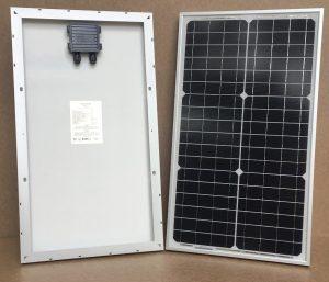 Begynder solcelleanlæg 30W/12V med batteri