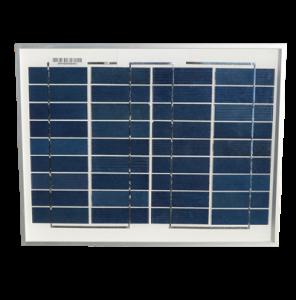10Wp/12V solcelle SA10-36P, polykrystallinsk