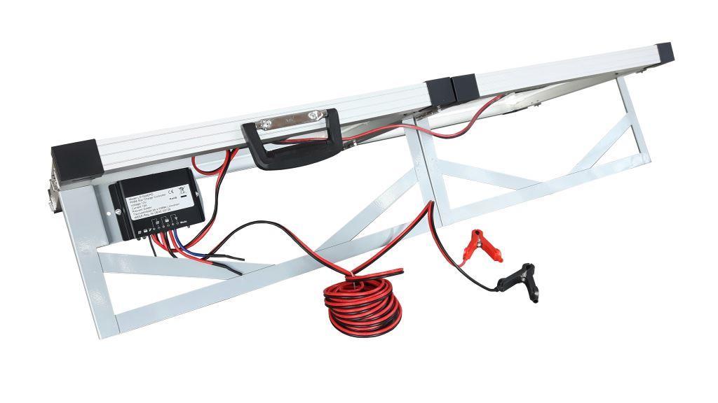 Solar kuffert 60/100 Watt, 12V, plug and play , med laderegulator
