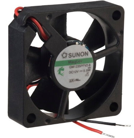 Sunon Ventilator 12V 35×35x10 11m³/h 22dBA 0,5W
